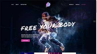 طراحی وب سایت آموزش رقص وبمستران ایران