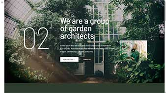طراحی وب سایت باغبانی 4 وبمستران ایران