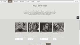 طراحی وب سایت تئاتر و هنر وبمستران ایران