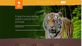 طراحی وب سایت حیوانات 2 برای وب سایت وبمستران ایران
