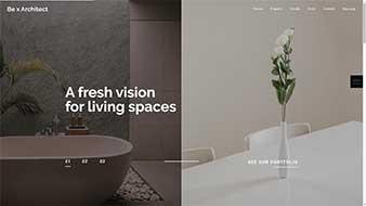 طراحی وب سایت دکوراسیون داخلی 5 وبمستران ایران