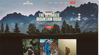 طراحی وب سایت راهنمای کوهنوردی وب مستران ایران