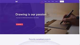 طراحی وب سایت رسم طراحی وبمستران ایران