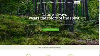 طراحی وب سایت محیط زیست وب مستران ایران
