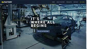 طراحی وب سایت اتومبیل سازی وبمستران ایران