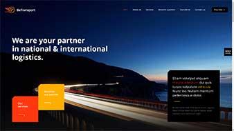 طراحی وب سایت اجاره اتومبیل ترانسفر 2