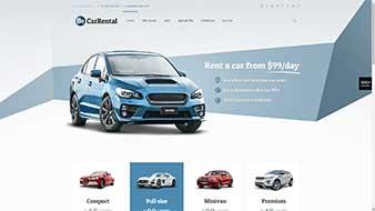 طراحی وب سایت اجاره اتومبیل وبمستران ایران