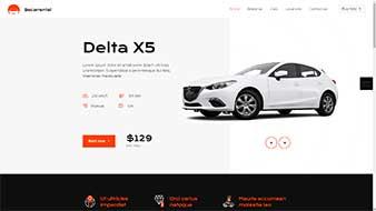 طراحی وب سایت اجاره اتومبیل 2 وبمستران ایران