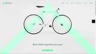 طراحی وب سایت اجاره دوچرخه وبمستران ایران