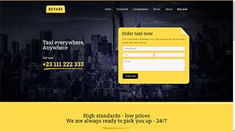 طراحی وب سایت تاکسی تلفنی وبمستران ایران
