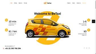 طراحی وب سایت تاکسی تلفنی 2 وبمستران ایران
