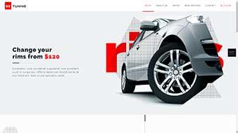 طراحی وب سایت تیونینگ اتومبیل وبمستران ایران