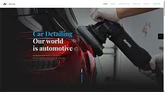 طراحی وب سایت خدمات اتومبیل 2 وبمستران ایران