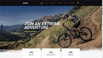 طراحی وب سایت دوچرخه وب مستران ایران