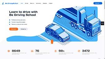 طراحی وب سایت رانندگی 2 وبمستران ایران