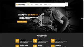 طراحی وب سایت مکانیک وبمستران ایران