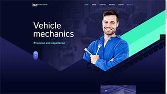 طراحی وب سایت مکانیک 3 وبمستران ایران