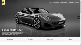 طراحی وب سایت نمایشگاه اتومبیل وبمستران ایران