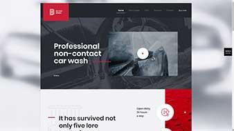 طراحی وب سایت کارواش وبمستران ایران
