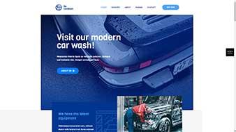 طراحی وب سایت کارواش 2 وبمستران ایران